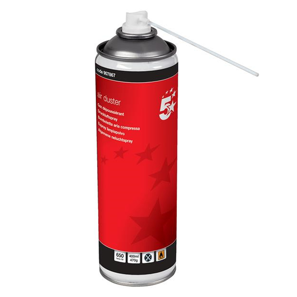 5 Star Non-Flammable Air Duster