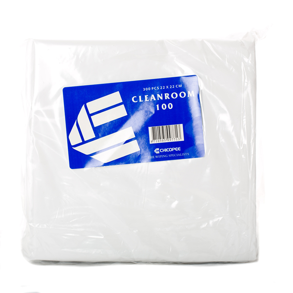Chicopee Cleanroom 100 Lint Free Wipes