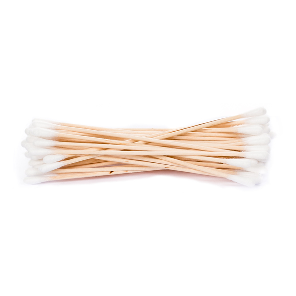Double Tipped Wooden Handled Cotton Swabs