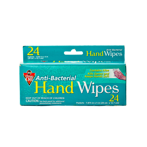 Falcon Dust-Off Anti-Bacterial Hand Wipes