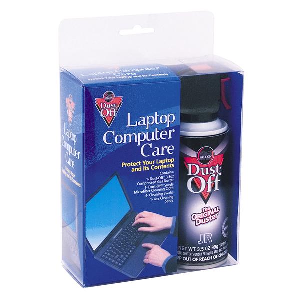 Falcon Dust-Off Laptop Computer Care Kit