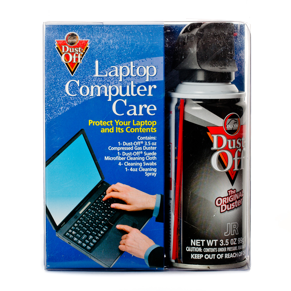 Falcon Dust-Off Laptop Computer Care Kit - Front