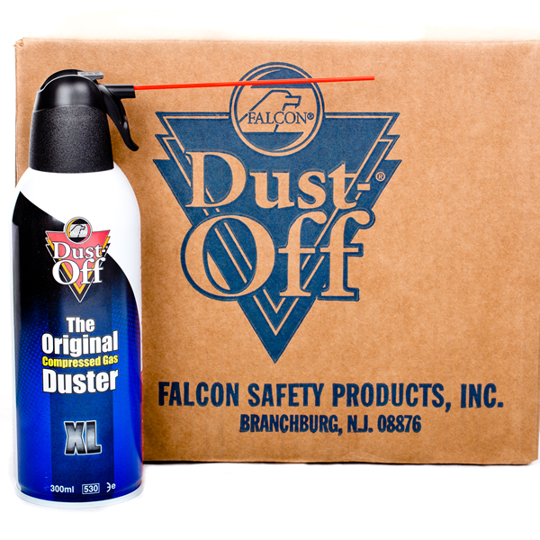 Falcon Dust-Off XL - 12 Pack Box