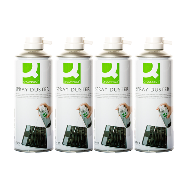 Q Connect Air Duster - 4 Pack