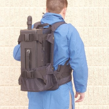 Vacuum Backpack - In Use
