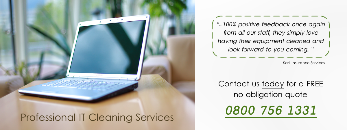 Professional IT Cleaning Services